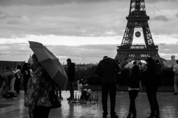 Captured at Trocadero just as soon as the rain started.